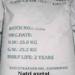 sodium acetate ANHY
